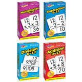 Math Operations Flash Cards Pack - Set of 4