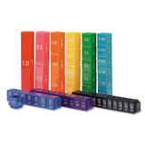 Fraction Tower¨ Equivalency Cube Set, Set of 51