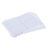 XY Axis Dry Erase Boards, Set of 10