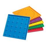 """6"""" Double-Sided Geoboards"""