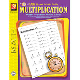 Multiplication Easy Timed Math Drills Book