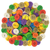 Sensational Mathª 10-Value Decimals to Whole Numbers Place Value Disc, Pack of 3000