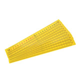 Student Elapsed Time Ruler, Pack of 10