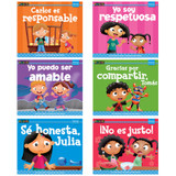 MySELF Readers: I Get Along with Others, Small Book, Spanish, Set of 6