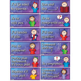 """French Anchor Charts, 18"""" x 8"""", Set of 12"""