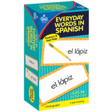 Everyday Words in Spanish: Photographic Flash Cards, Grade PK-8