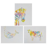 """Art Papers, Radiant Gradient, 8-1/2"""" x 11"""", 12 Sheets"""