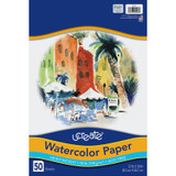 """Art1st¨ Watercolor Paper, White, Package, 12"""" x 18"""", 50 Sheets"""