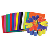 """Double Color Cardstock Sheets, 8"""" x 9"""", Pack of 100"""