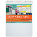 """Pacon¨ Heavy Duty Anchor Chart Paper, Non-Adhesive, White, Unruled 27"""" x 34"""", 25 Sheets"""