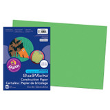 """SunWorks¨ Construction Paper, Bright Green, 12"""" x 18"""", 50 Sheets"""