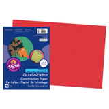 """SunWorks¨ Construction Paper, Holiday Red, 12"""" x 18"""", 50 Sheets"""