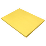 """Construction Paper, Yellow, 18"""" x 24"""", 100 Sheets"""