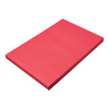 """Construction Paper, Holiday Red, 12"""" x 18"""", 100 Sheets"""