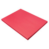 """Construction Paper, Holiday Red, 18"""" x 24"""", 100 Sheets"""