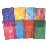 """Roylco¨ Stained Glass Paper, 8-1/2"""" x 11"""", 24 shts"""