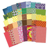 All Kinds of Fabric Design Papersª, 200 Sheets
