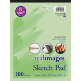 """Sketch Pad, Standard Weight, 9"""" x 12"""", 100 Sheets"""