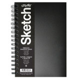 """Poly Cover Sketch Book, Heavyweight, 9"""" x 6"""", 75 Sheets"""