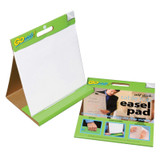 """Table Top Easel Pad, Self-Adhesive, White, 16"""" x 15"""", 25 Sheets"""
