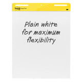 """Super Sticky Easel Pad, 25"""" x 30"""", White, 30 Sheets/Pad, 2 Pads"""