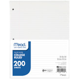 Notebook Filler Paper, College Ruled, 200 Sheets