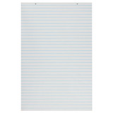 """Primary Chart Pad, White, 1"""" Ruled Short Way, 24"""" x 36"""", 100 Sheets"""