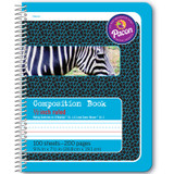 """Primary Composition Book, Spiral Bound, D'Nealian/Zaner-Bloser, 1/2"""" x 1/4"""" x 1/4"""" Ruled, 9-3/4"""" x 7-1/2"""", 100 Sheets"""