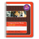 """Primary Composition Book, Spiral Bound, D'Nealian/Zaner-Bloser, 5/8"""" x 5/16"""" x 5/16"""" Ruled, 9-3/4"""" x 7-1/2"""", 100 Sheets"""