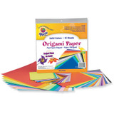"""Origami Paper, Assorted Colors, up to 9-3/4"""" x 9-3/4"""", 55 Sheets"""