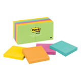 """Notes, 3"""" x 3"""", Jaipur Collection, 14 Pads"""