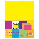 """UCreateª Neon Poster Board, 5 Assorted Colors, 11"""" x 14"""", 5 Sheets"""