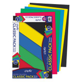 """Primary Poster Board, 5 Assorted Colors, Primary, 14"""" x 22"""", 5 Sheets"""