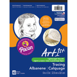 """Art1st¨ Tracing Pad, White, 9"""" x 12"""", 40 Sheets"""