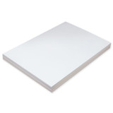 """Super Heavyweight Tagboard, White, 12"""" x 18"""", 100 Sheets"""