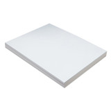 """Lightweight Tagboard, White, 9"""" x 12"""", 100 Sheets"""