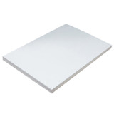 """Lightweight Tagboard, White, 12"""" x 18"""", 100 Sheets"""