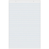 """Ruled Tagboard Sheets, White, Lightweight, 1-1/2"""" Ruled Short, 24"""" x 36"""", 100 Sheets"""