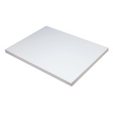 """Medium Weight Tagboard, White, 18"""" x 24"""", 100 Sheets"""