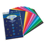"""Deluxe Bleeding Art Tissue, 25 Assorted Colors, 12"""" x 18"""", 100 Sheets"""