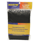 """All Purpose Mesh Bag with Carrying Strap, Black, 24"""" x 36"""""""