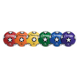 Soccer Ball Set/6, Rubber Cover Size 5