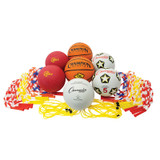 Physical Education Kit with Seven Balls & 14 Jump Ropes, Assorted Colors