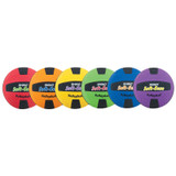 Rhino¬ Softeeze Volleyball Set, Assorted Colors, Set of 6