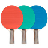 Table Tennis Paddle, rubber face/wood