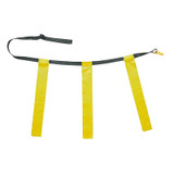 """Triple Flag Football Set, Youth, Yellow, 25""""-31"""", 12 per pack"""