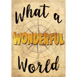 Whats a Wonderful World Positive Poster