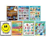 French Essential Classroom Posters Set II