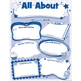 All About Me Poster Pack, Pack of 32