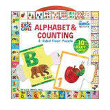 The World of Eric Carle» Alphabet & Counting 2-Sided Floor Puzzle